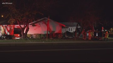 1 dead, 2 injured after car crashed into Rancho Cordova home