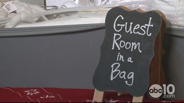 Everything you need for your guests in one bag