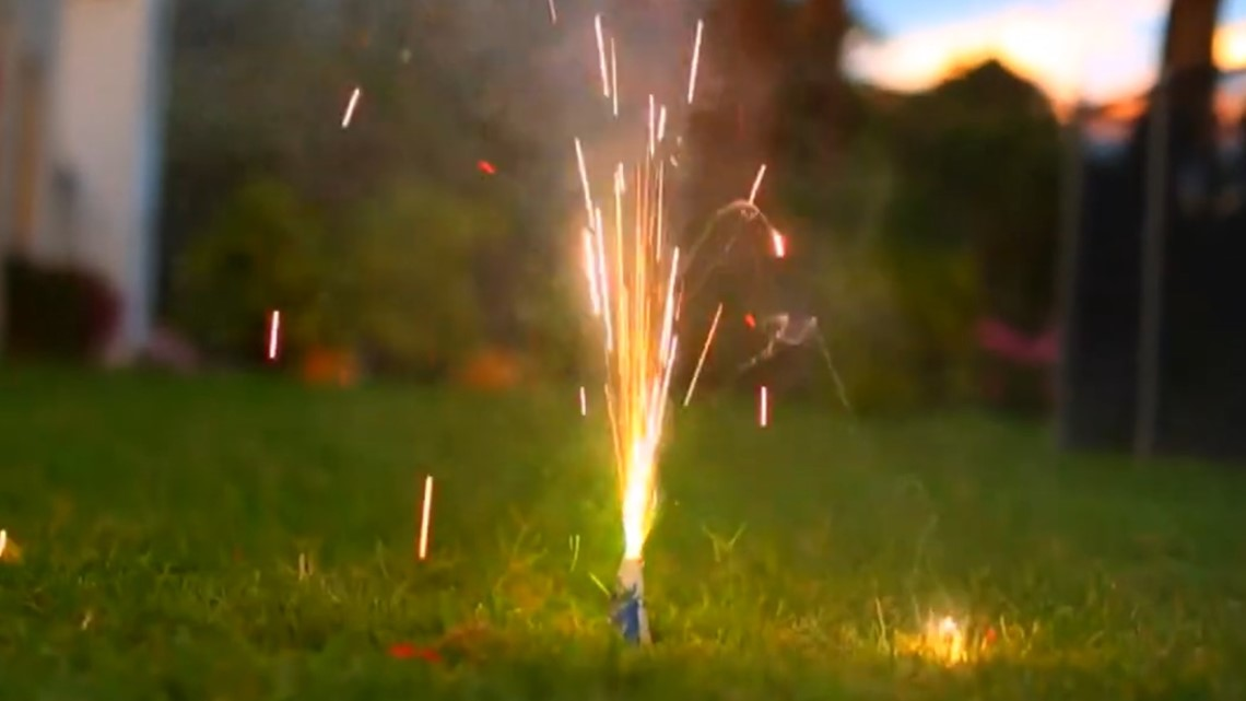 5 tips to stay safe with at-home fireworks on the Fourth of July