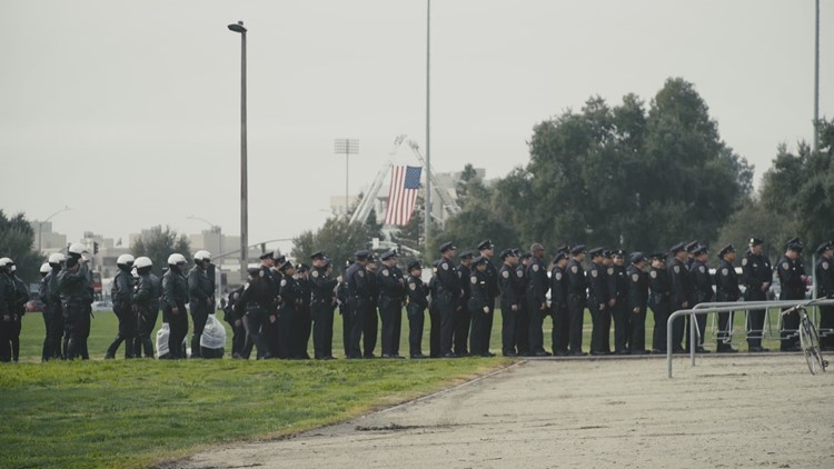 End of Watch group again brings snack bags to mourners, this time at Corona funeral