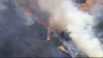 Fairfield grass fire contained | On the Scene