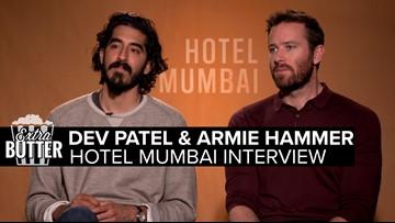 Dev Patel & Armie Hammer | 'Hotel Mumbai' Interview | Extra Butter