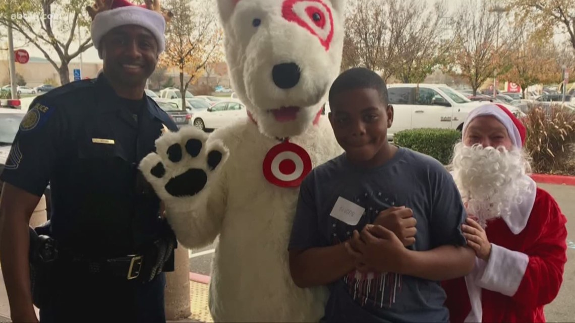 Sacramento Police, Target team up to help local kids 'shop with a cop'