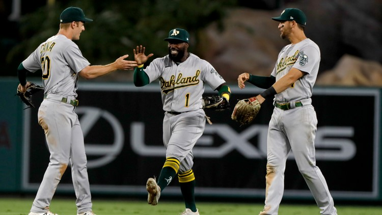 Kaprielian, A's beat Angels 3-1 to keep pace for wild card