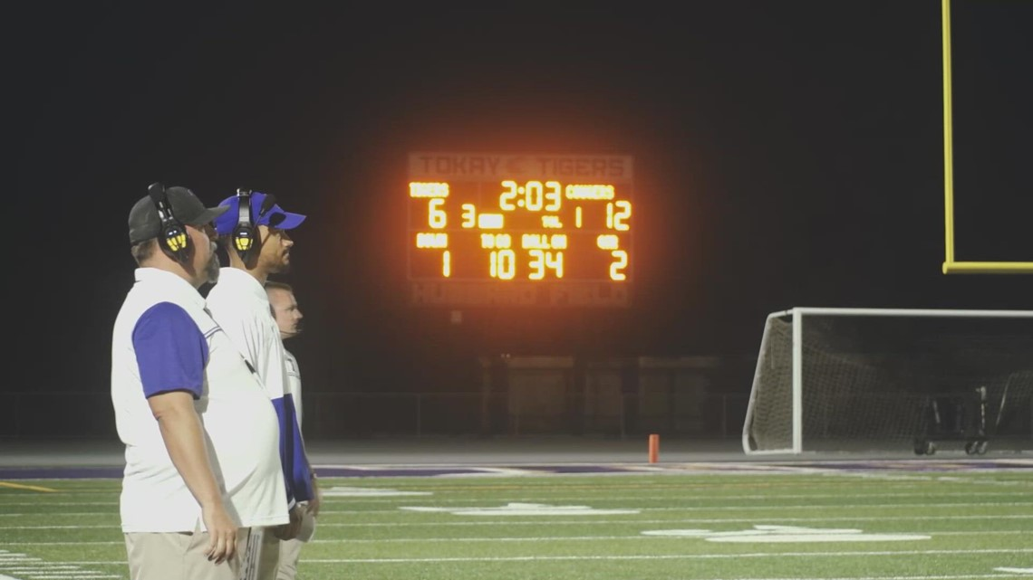 Tokay Tigers defeat the Kennedy Cougars 26-18