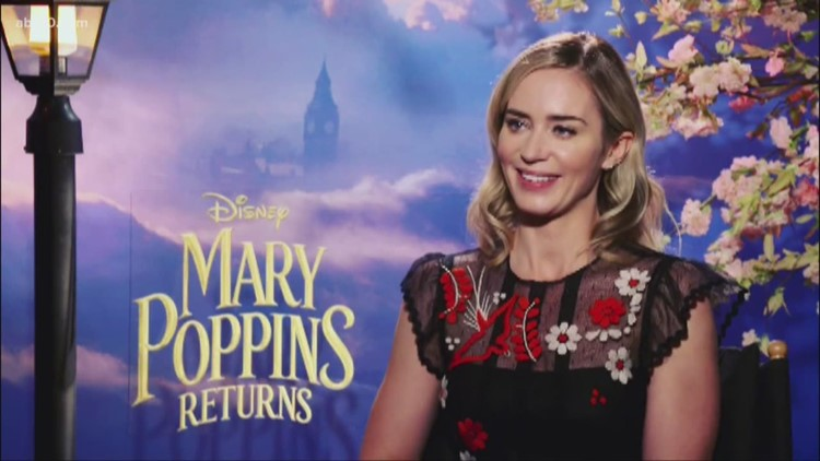 'Mary Poppins Returns' interviews: Emily Blunt
