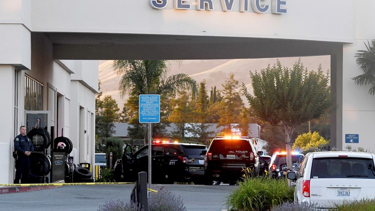 3 dead after shooting at Bay Area Ford dealership, police say