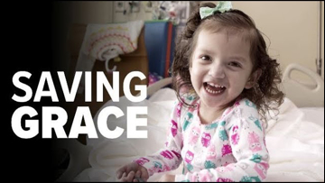 Saving Grace: a family gets the girl they always wanted, then fight to keep her alive.