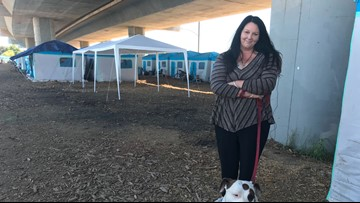 How the outdoor emergency homeless shelter is working for Modesto