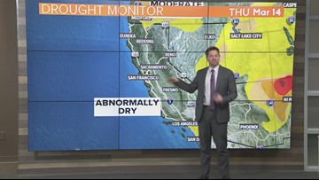 Local afternoon weather: March 14, 2019