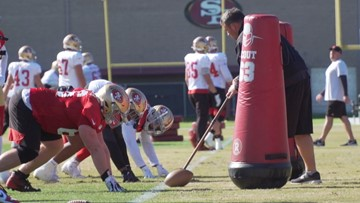 Super Bowl LIV Preview   San Francisco 49ers' final day of practice at Levi's Stadium