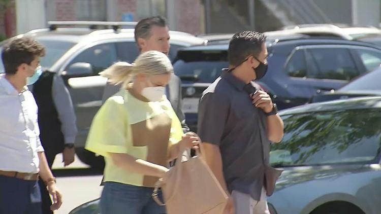 Man arrested on suspicion of assaulting Gov. Newsom during visit to Oakland