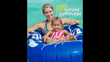 Enter to win a Family 4-Pack of tickets to Golfland Sunsplash!