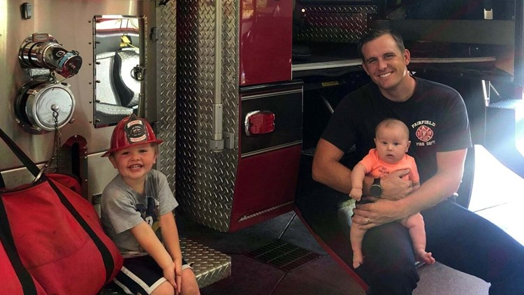 Fairfield firefighter who suffered heart attack during fire has favorable outlook for recovery