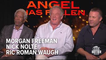 'Angel Has Fallen' interview | Morgan Freeman, Nick Nolte & Ric Roman Waugh | Extra Butter