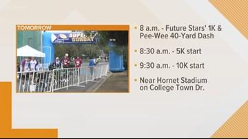 California Family Fitness hosts Super Sunday Run X