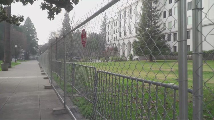 FBI Sacramento Field Office sets up command post ahead of potential armed protests this weekend