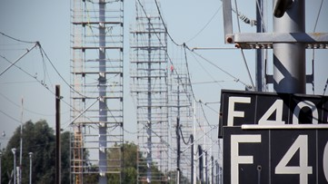 Why Guy: Why are there large white towers along Highway 50 in Sacramento?