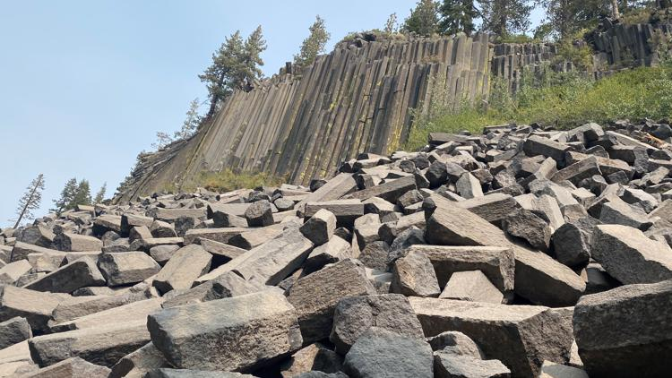 Devils Postpile: a geological wonder in Madera County | Bartell's Backroads