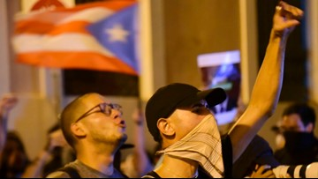 Massive protests demand to oust Puerto Rico Governor Ricardo Rosselló