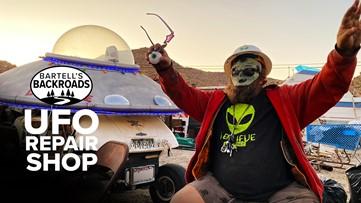 UFO repair shop keeps its mechanic busy in California desert | Bartell's Backroads Pit Stop