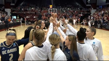 UC Davis Aggies season ends in loss to Stanford in Women's NCAA Tournament