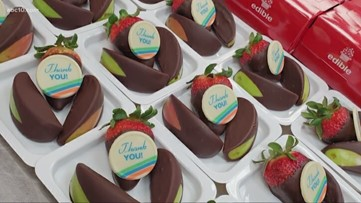 Roseville Edible Arrangements gives back to first responders during coronavirus pandemic
