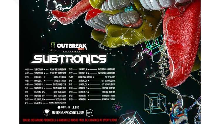 Monster Energy Outbreak Tour bringing EDM star Subtronics to Yuba City