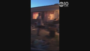 Southern California earthquake forces Trona woman to sleep outdoors