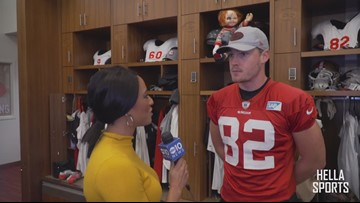 San Francisco 49ers TE Ross Dwelley on his NFL journey and NFC Championship run