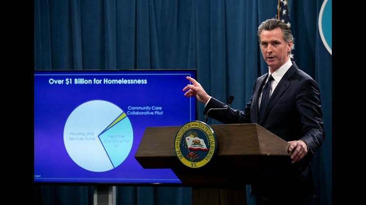 Newsom Homeless Mandate