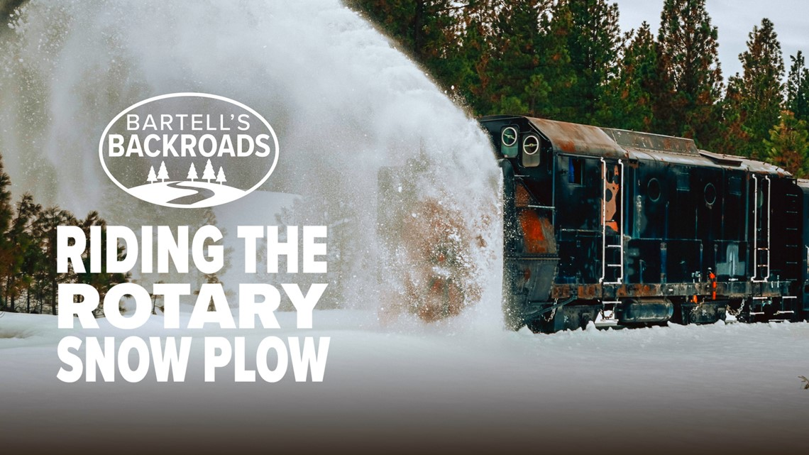 Riding the rotary snow plow   Bartell's Backroads