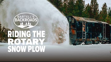 Riding the rotary snow plow | Bartell's Backroads