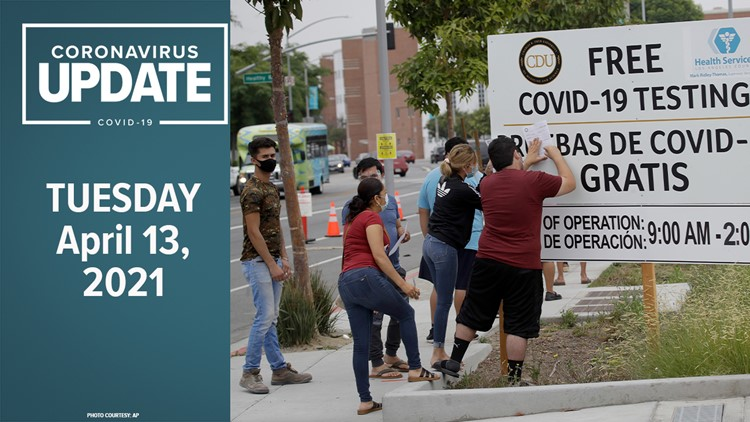 Newsom says J&J vaccine pause won't affect state reopening   COVID-19 Updates in Northern California