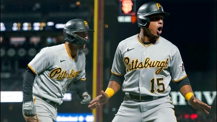 Reynolds HR, Pirates stop 4-game skid, beat Giants 6-4