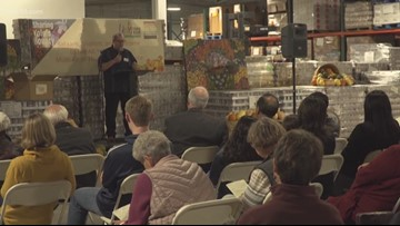 Community gives thanks during interfaith service at Yolo Food Bank