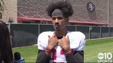 49ers CB Ahkello Witherspoon talks training camp, relationship with Richard Sherman