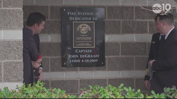 Fire station in Fair Oaks dedicated to firefighter who died from job-related illness