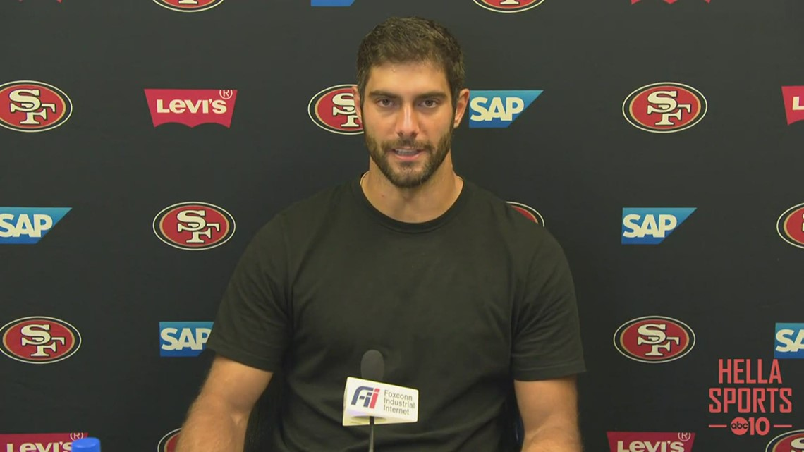 49ers QB Jimmy Garoppolo ready to bounce-back after loss to Dolphins, ready for Rams