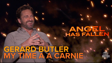 Gerard Butler relives his time as a carnie in Sacramento | 'Angel Has Fallen' interview | Extra Butter