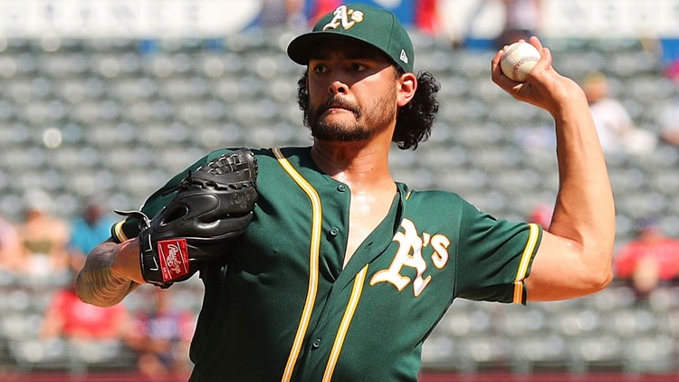 Manaea throws 6 scoreless, A's beat Rangers 6-1 for sweep