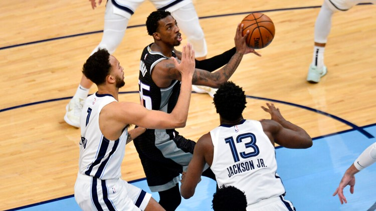 Kings eliminated from posteason following 116-110 loss to Grizzlies