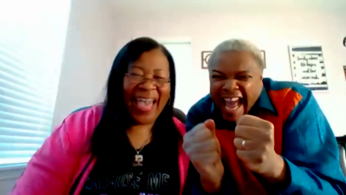The parents of Kings star Richaun Holmes have won over fans in Sacramento with their new tune