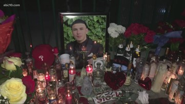 Family, friends hold vigil for Stockton teen who was shot and killed