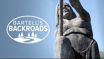 Auburn's gigantic, nude icons still drawing eyes and visitors | Bartell's Backroads