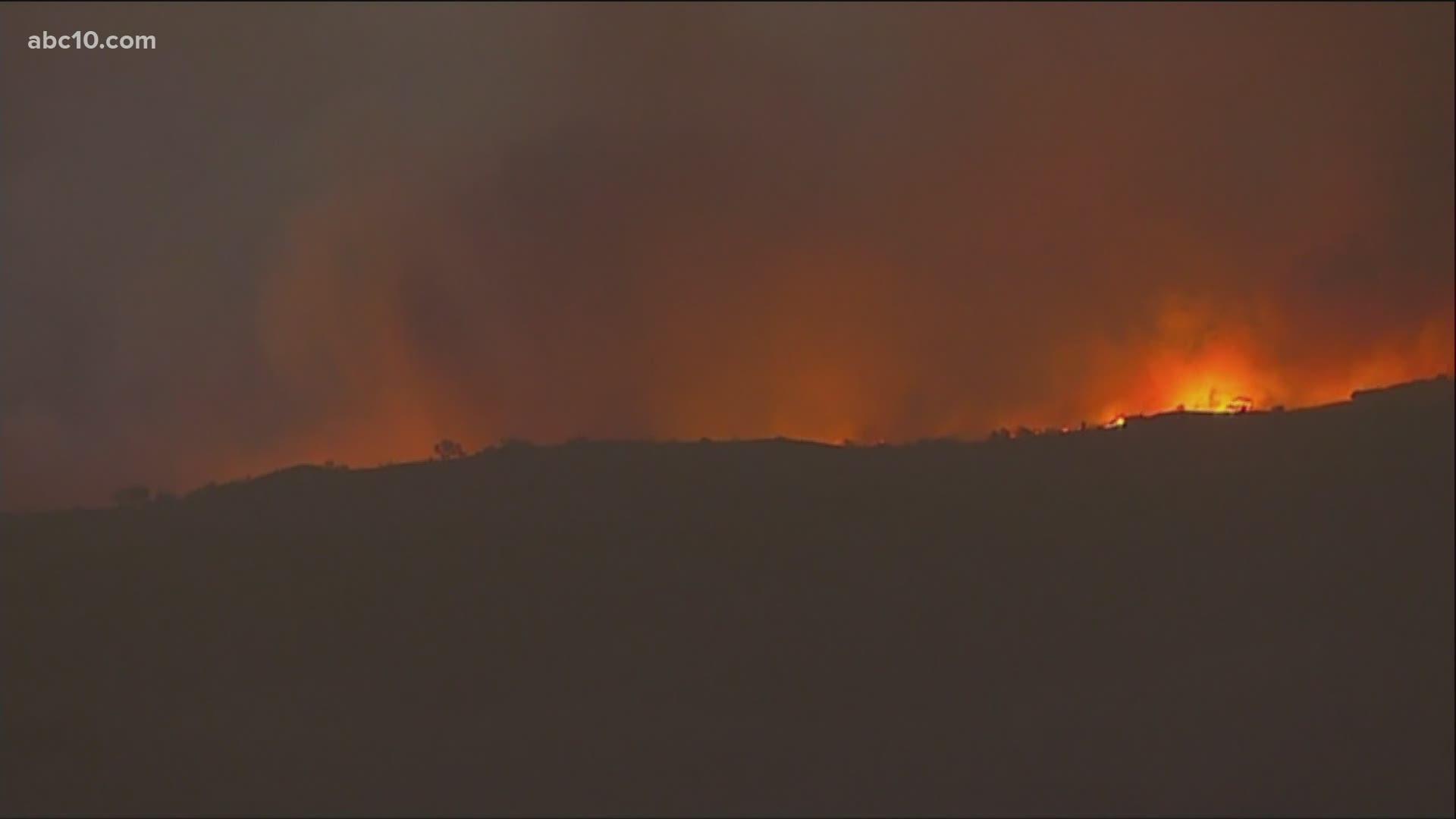 Orange County Bond Fire Live Maps Evacuations Road Closure Abc10 Com
