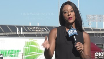 Raiders prepare for final home opener in Oakland on Monday Night Football