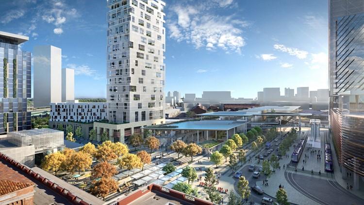 Photos: Designs concepts for the Sacramento Valley Station Plan