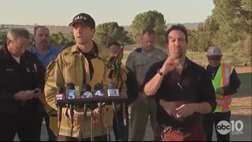 Saddleridge Fire burning in Los Angeles County   News conference RAW