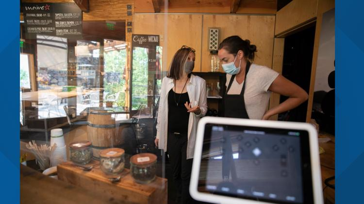'Is something around the corner?' Small businesses reopen to find new challenges